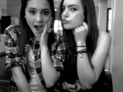 Ariana Grande & Elizabeth Gillies - Having fun together in personal pics