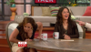 Leah Remini Upskirt panty shot on The Talk