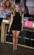 Ashley Benson promotes Seventeen Magazine's September issue at the American Eagle Times Square Store  in New York, 9 August, x8
