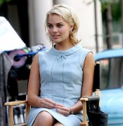 "Margot Robbie on set of ""Pan Am"" in NYC (Aug. 11th, 2011)"