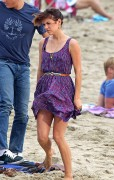 Джессика Строуп, фото 967. Jessica Stroup Filming '90210' on Redondo Beach in Los Angeles - 17.08.2011, foto 967