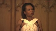 Condoleezza Rice---sexy long dress--speaking--UK--04.07.2011