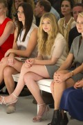 3587d5149728523 Ashley Greene and Chloe Moretz @ Calvin Klein Spring 2012 fashion show, Sept 15 high resolution candids