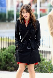 """Sarah Shahi On The Set Of """"Fairly Legal"""" in Vancouer, Canada November 2, 2011 HQ x 15"""