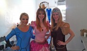Lisa Foiles dressed as Princess Peach