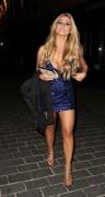 Аманда Харингтон, фото 38. Amanda Harrington – Outside Anaya Nightclub – London – Jan. 12, 2012, foto 38