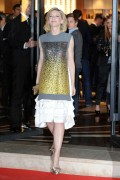 Кейт Бланшет, фото 1006. Cate Blanchett leaving Maison Louis Vuitton Roma Etoile Cocktail in Rome - January 27, 2012, foto 1006