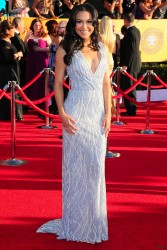 Ная Ривера, фото 160. Naya Rivera 18th Annual Screen Actors Guild Awards at The Shrine Auditorium in Los Angeles - 29.01.2012, foto 160