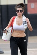 Imogen Thomas Leaving a Yoga Class in London 8th February x17