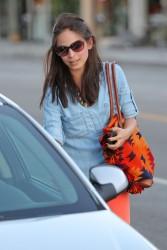 Кристин Кройк, фото 1216. Kristin Kreuk leaving the Kings Road Cafe in West Hollywood, february 16, foto 1216