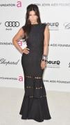 Ким Кардашиан, фото 7947. Kim Kardashian Elton John AIDS Foundation Academy Awards Party - 02/26/12*with sister Kourtney, foto 7947,