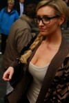 Catherine Tyldesley - On Set Of Corrie 9th March 2012 HQx 12