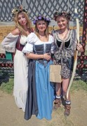 Aly & AJ Michalka at The Original Renaissance Pleasure Faire in Irwindale, May 5, 2012