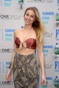 Whitney Port - Fiji Water Presents Summer Soak event in Miami 06/24/12