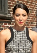 Aubrey Plaza - at Late Show with David Letterman in New York 07/17/12